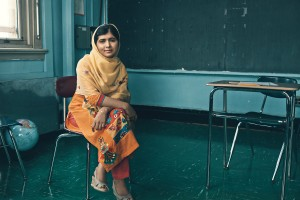 2014 Co-Recipient of the Nobel Peace Prize, Malala Yousafzai