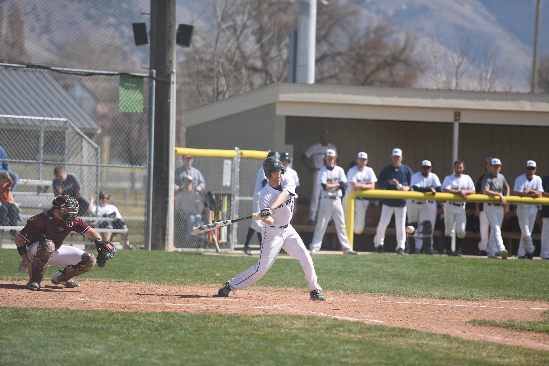 USU baseball takes on Montana in double-header