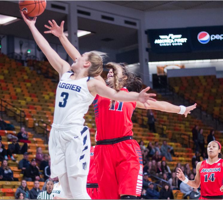 USU Women's Basketball at Idaho State University  – 27 Nov. 2017 – Jaden Johnson LIVE Stream