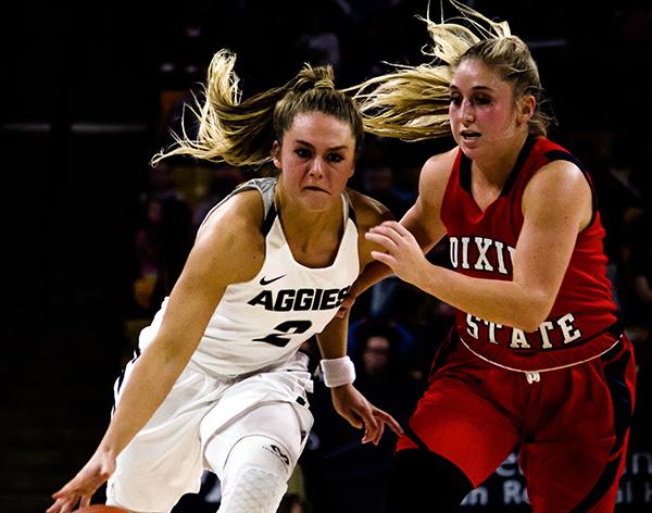 USU Women's Basketball at Southern Utah University – 21 Nov. 2017