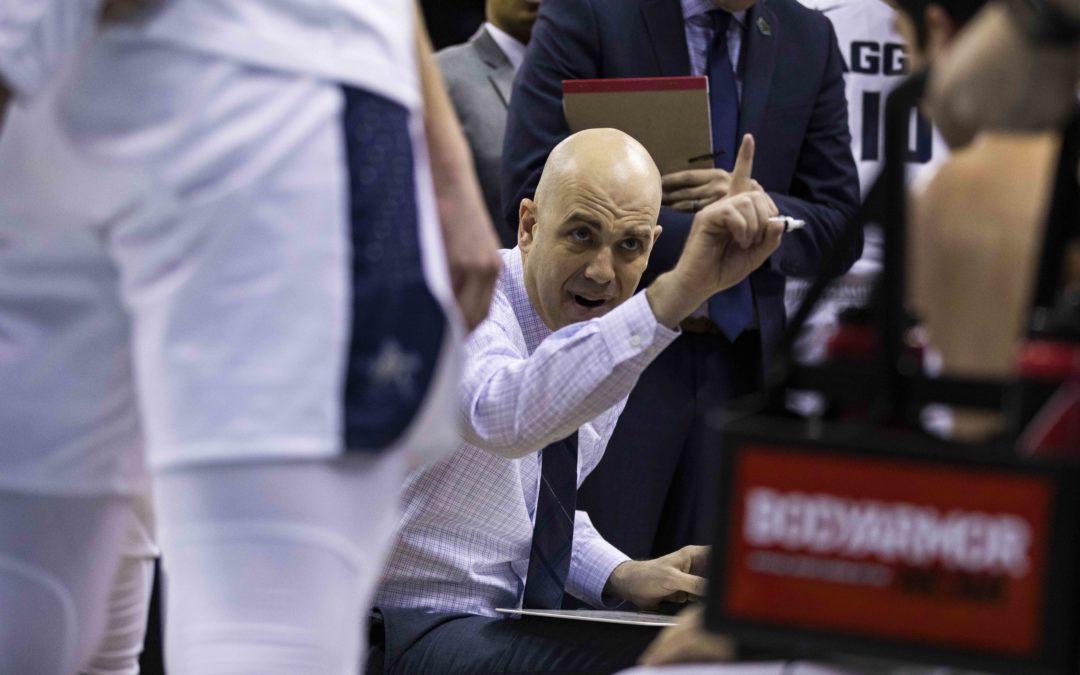 The Statesman Sports Desk – Utah State men's basketball head coach Craig Smith