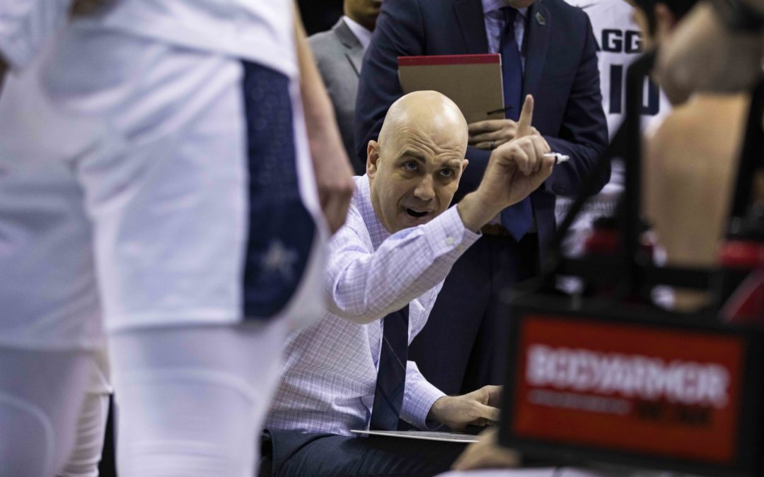 The Statesman Sports Desk – Utah State men's basketball head coach Craig Smith
